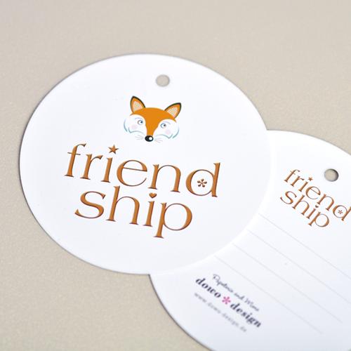 Friendship-Armbänder Größe L in Weiß