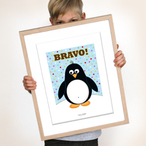 Print Pinguin