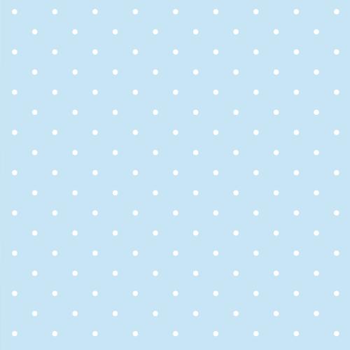 Geschenkpapier Minipunkte Hellblau