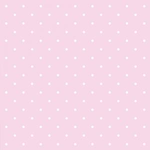 Geschenkpapier Minipunkte Rosa