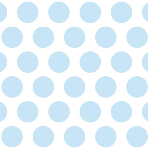 Geschenkpapier Punkte Hellblau