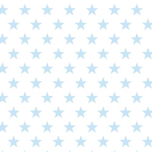 Geschenkpapier Sterne Hellblau