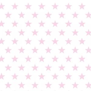 Geschenkpapier Sterne Rosa